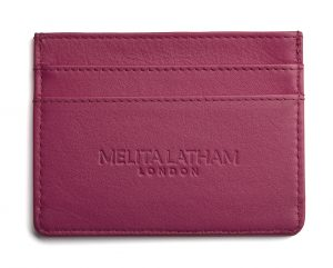 Melita Latham London Card Holder